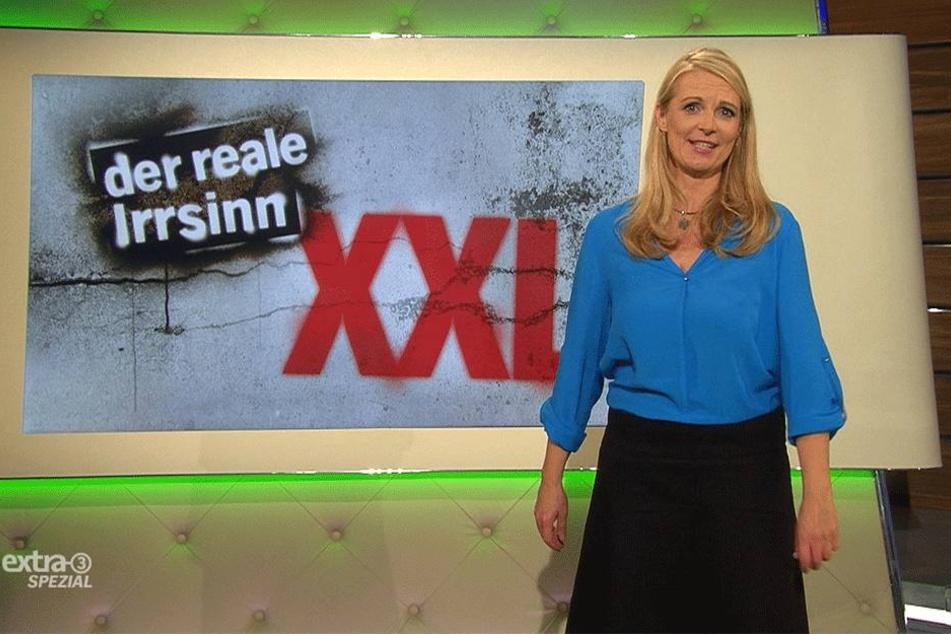 """Die NDR-Satiresendung """"Extra 3 Spezial"""" mit Barbara Ruscher (48) kürte die  Aktion zum """"realen Irrsinn""""."""