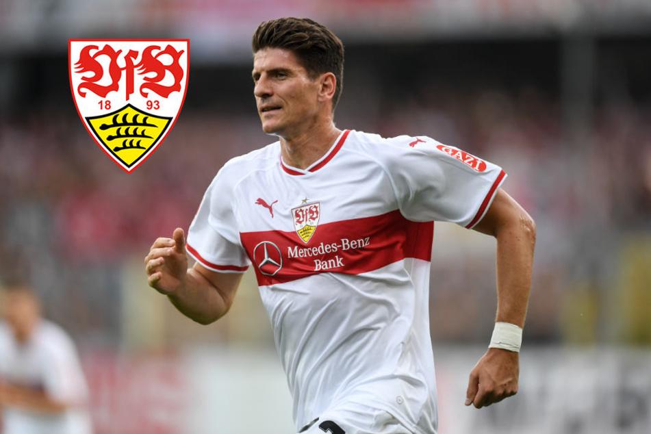 Allein im VfB-Sturm! Mario Gomez vermisst Didavi und Donis