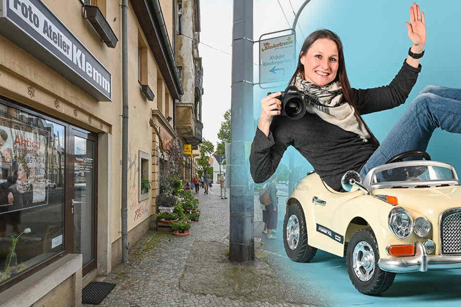 Dresden: Jahrelange Foto-Tradition: Wo schon Uropa Georg Dresdner ins rechte Licht setzte