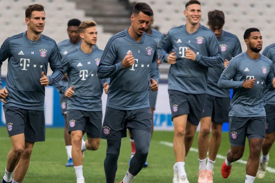 Der FC Bayern München trifft in der Champions League am Dienstag auf AEK Athen.