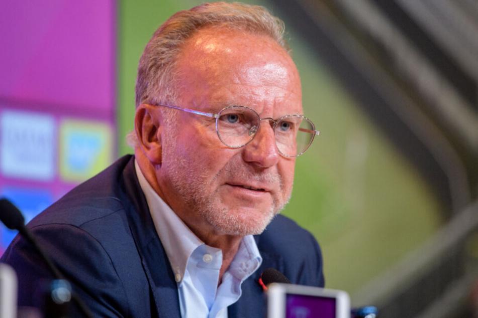 Karl-Heinz Rummenigge und die Bosse des FC Bayern haben große Ziele.