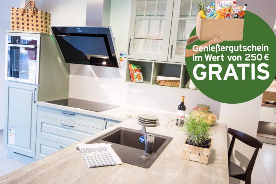 Bei einem Küchenkauf gibt's einen 250-Euro-Genießergutschein on top.
