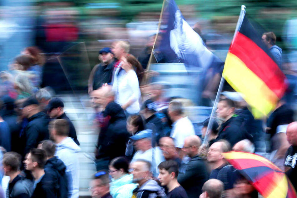 Waren Berliner Rechtsradikale in Chemnitz dabei?
