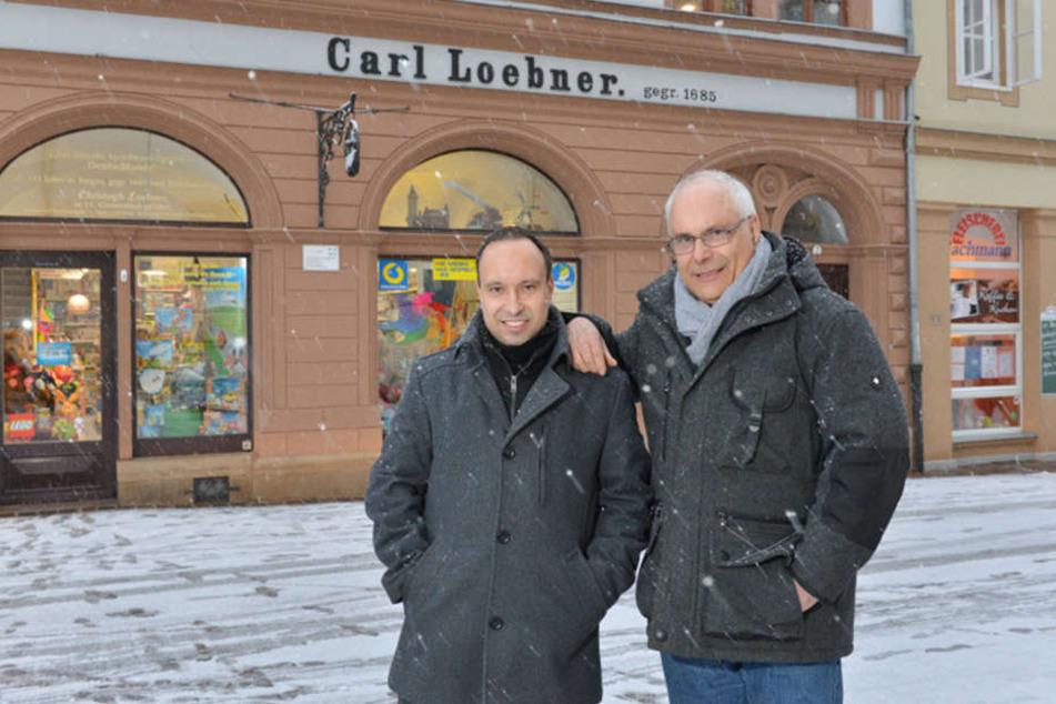 """Das 1685 gegründete Spielwarengeschäft """"Carl Loebner"""" ist in Torgau eine feste Instanz."""
