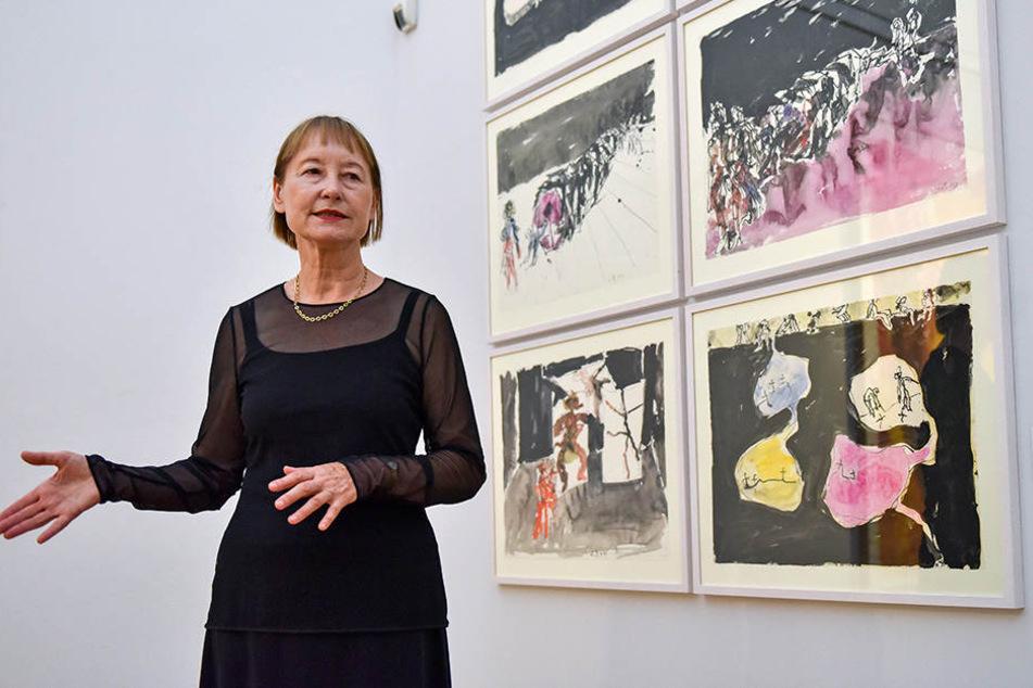 Diese Frau kennt die Welt: Ingrid Mössinger, Generaldirektorin der Kunstsammlungen Chemnitz.