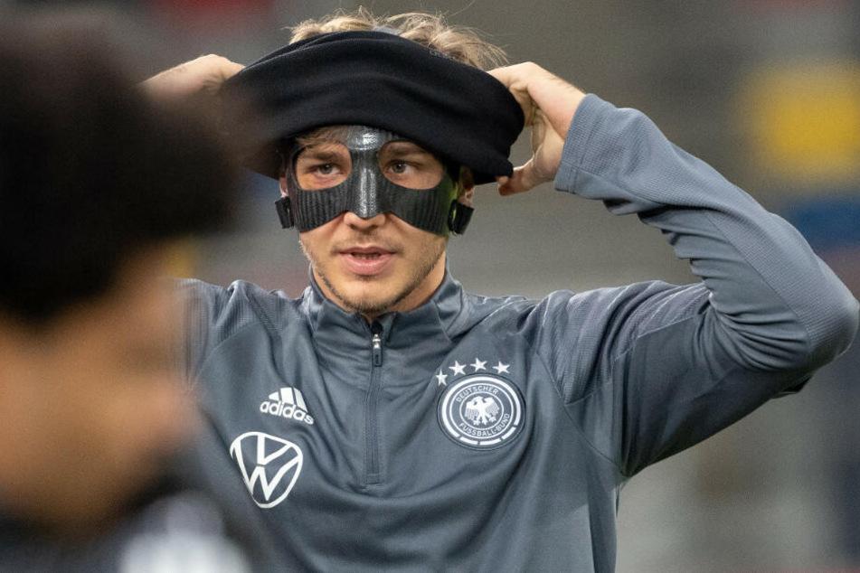Niklas Stark konnte am Donnerstag erstmals mit der Mannschaft trainieren.