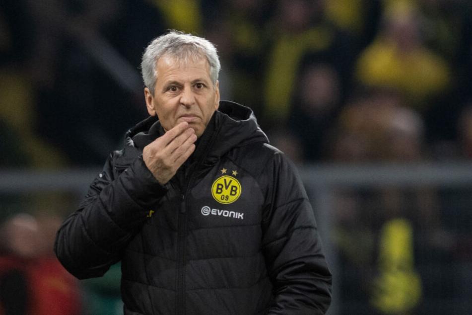 Verlebt aktuell nicht die einfachste Zeit in Dortmund: Lucien Favre.
