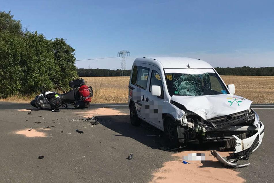 In dem Opel saß während des Unfalls auch ein Kind.