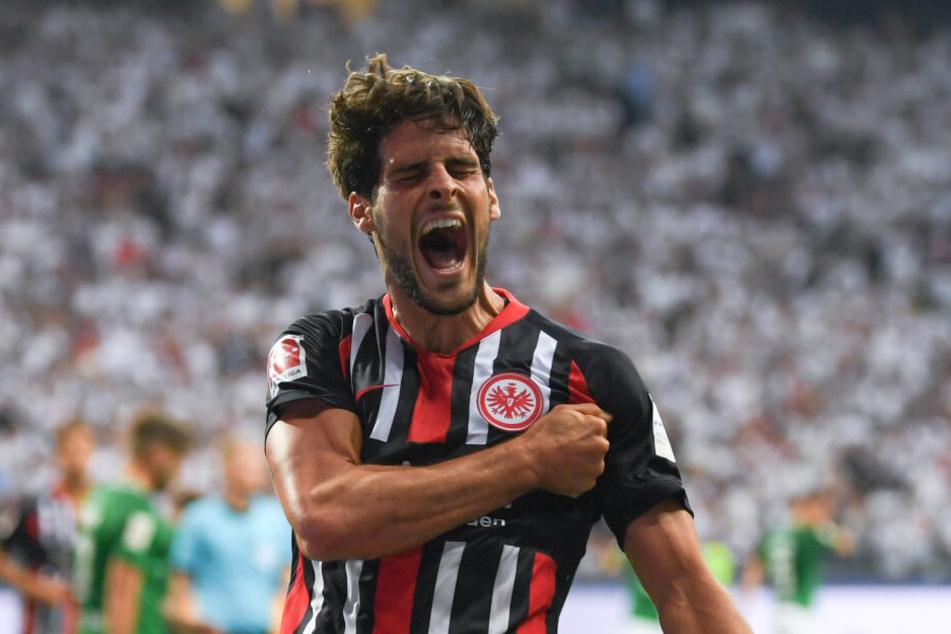 Goncalo Paciencia ist in der neuen Saison zum Top-Stürmer der Eintracht avanciert.