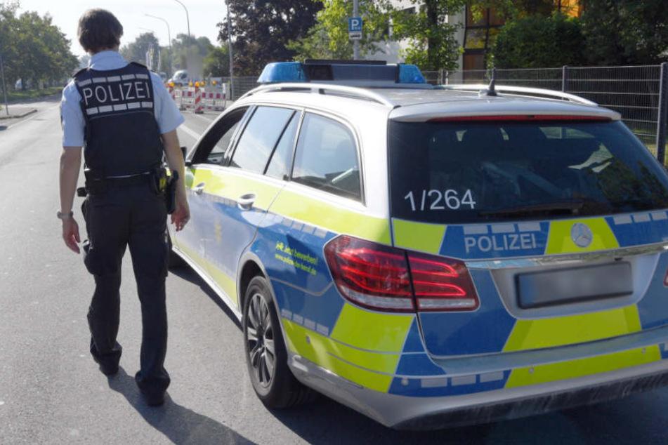 Die Polizei konnte den mutmaßlichen Täter noch am Tatort festnehmen (Symbolfoto).