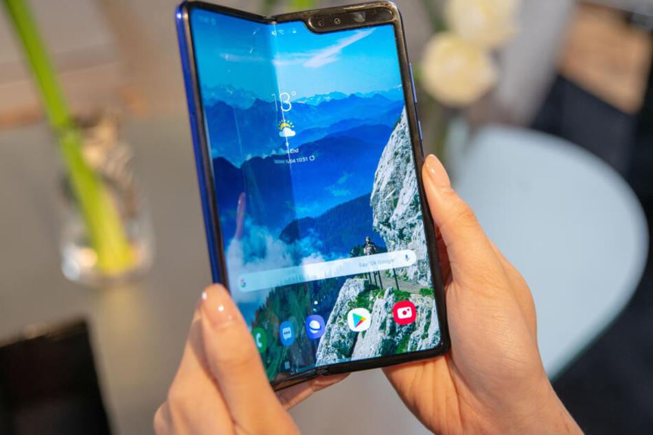 Katastrophe 2.0? Samsung stellt erneut Klapp-Handy vor