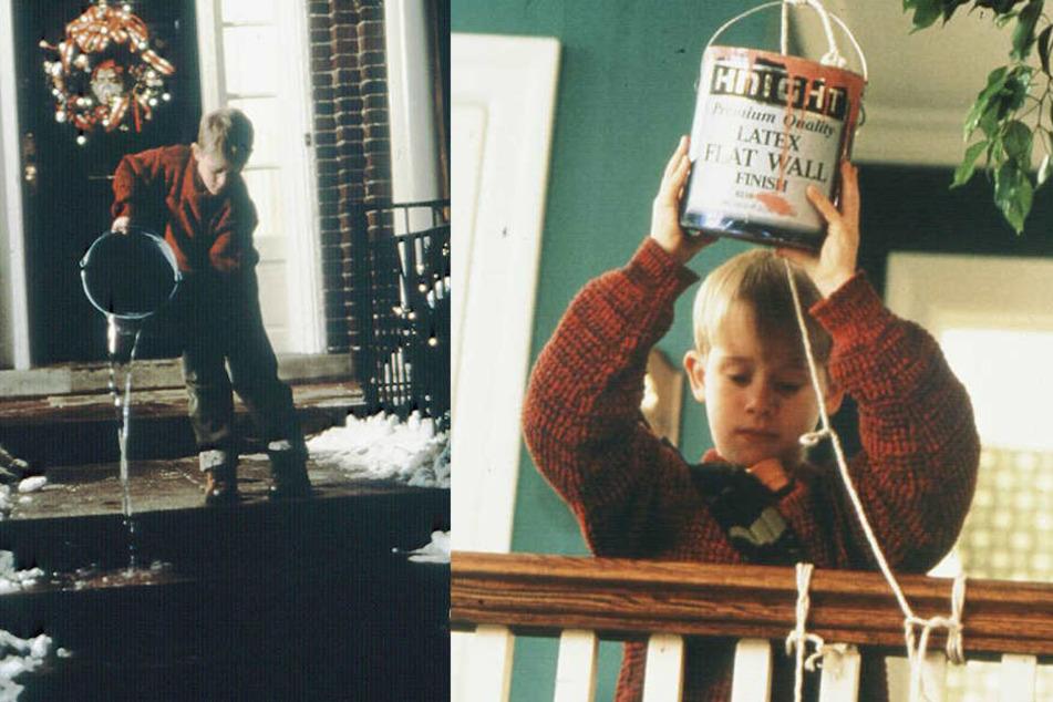 Kindheitserinnerungen: Kevin wusste, wie er sich am besten gegen die Einbrecher wehrt.