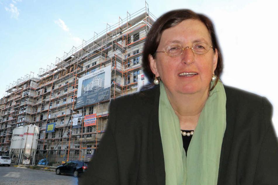 Die Neuvertrags-Mietpreise stiegen in Leipzig in den vergangenen drei Jahren um 10,3 Prozent an. Dagegen will Baudezernentin Dorothee Dubrau ankämpfen.