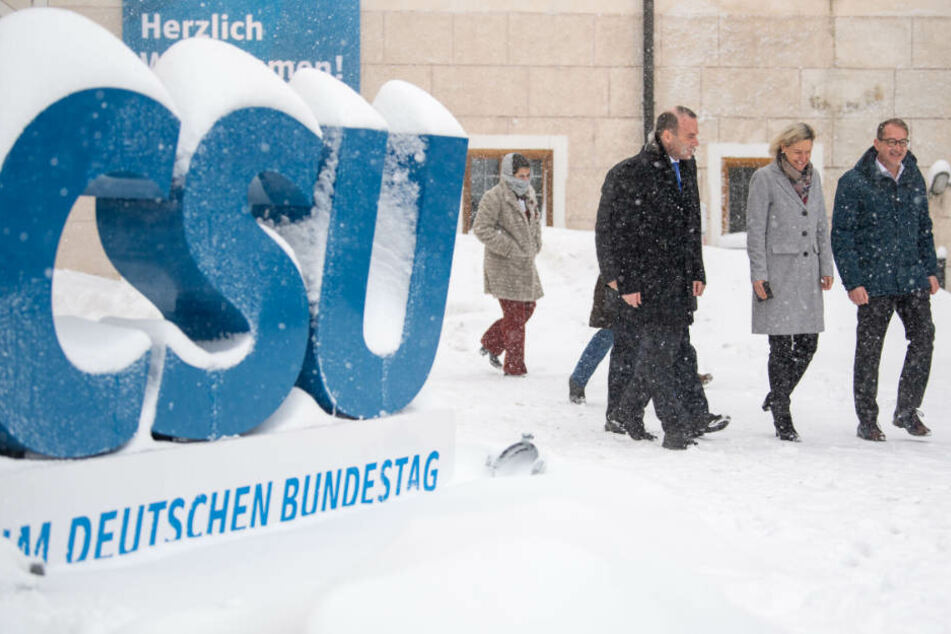 Die CSU-Landesgruppe befindet sich aktuell auf Klausur in Seeon in Bayern.