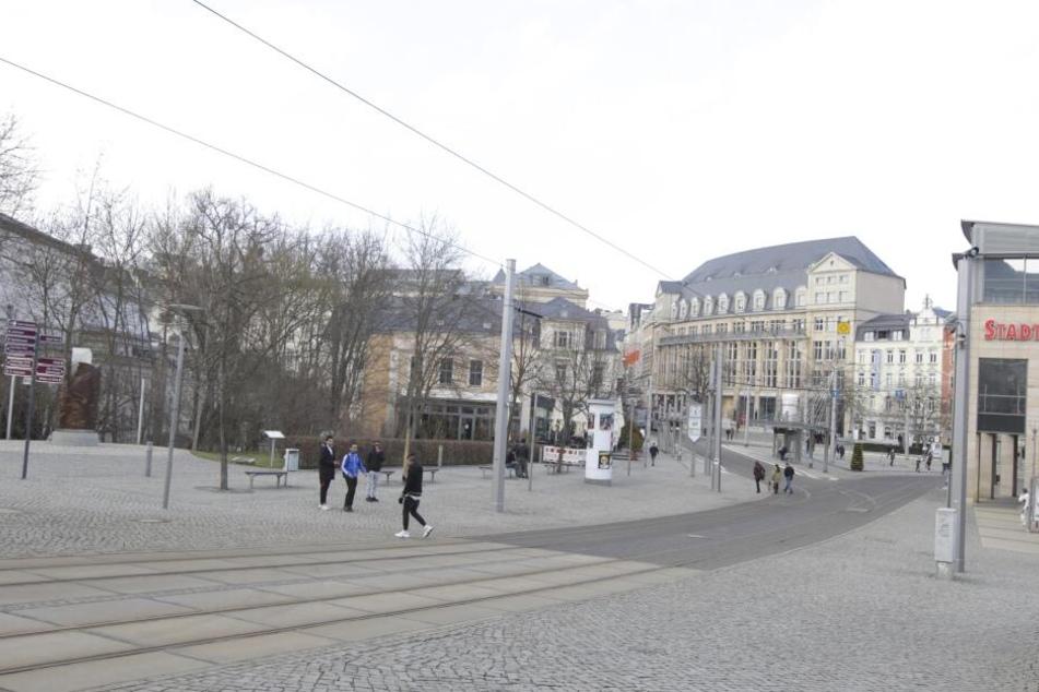 Die Attacke passierte am Postplatz in Plauen.