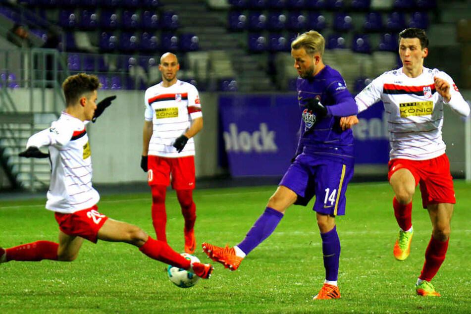 Die abstiegsbedrohten Erfurter gewannen das Testspiel gegen die Erzgebirger.