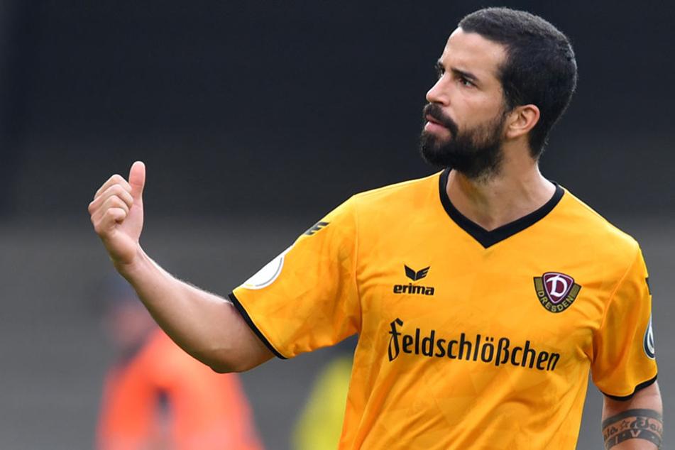 Nils Teixeira (26) wird die SGD zum Saisonende verlassen.