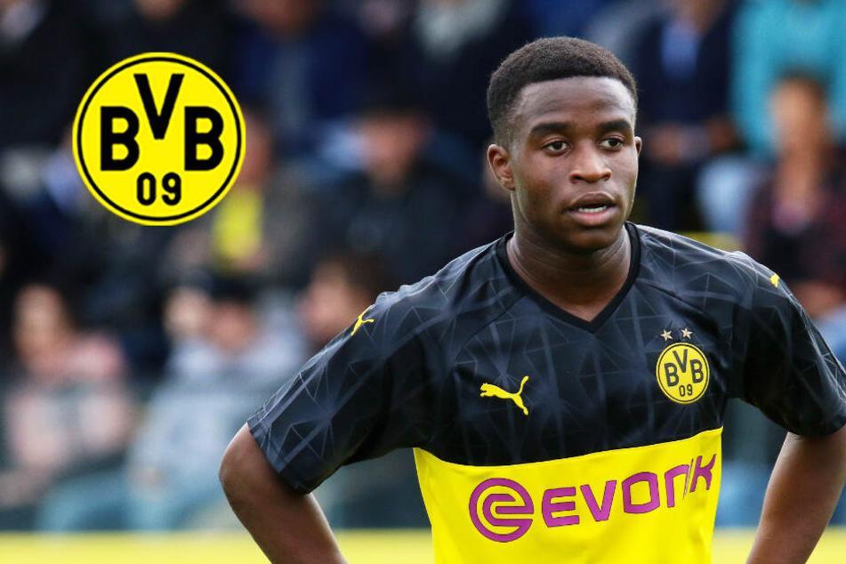 Youssoufa Moukoko (15) darf endlich mit den BVB-Profis trainieren!