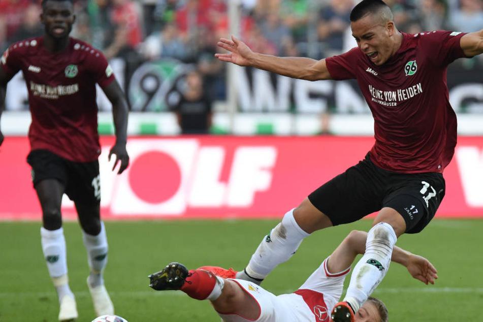 Die Hannoveraner waren über 90 Minuten einfach bissiger als der VfB.