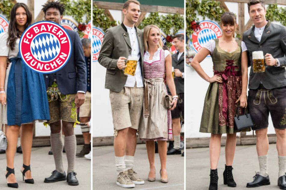 Nach Hoffenheim-Blamage: Bayern-Stars können auf der Wiesn wieder lachen