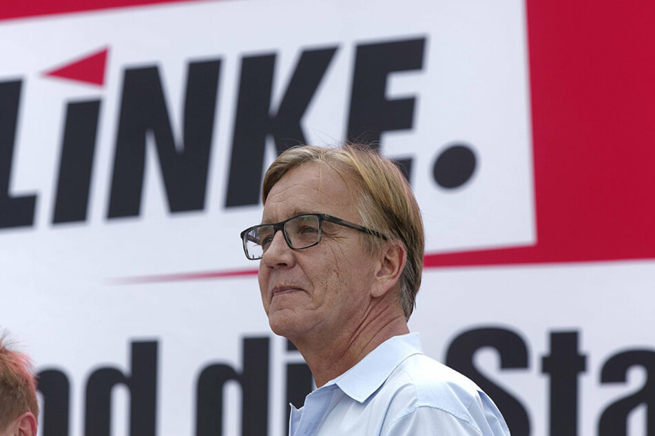 Chef der Linksfraktion im Bundestag, Dietmar Bartsch (58)