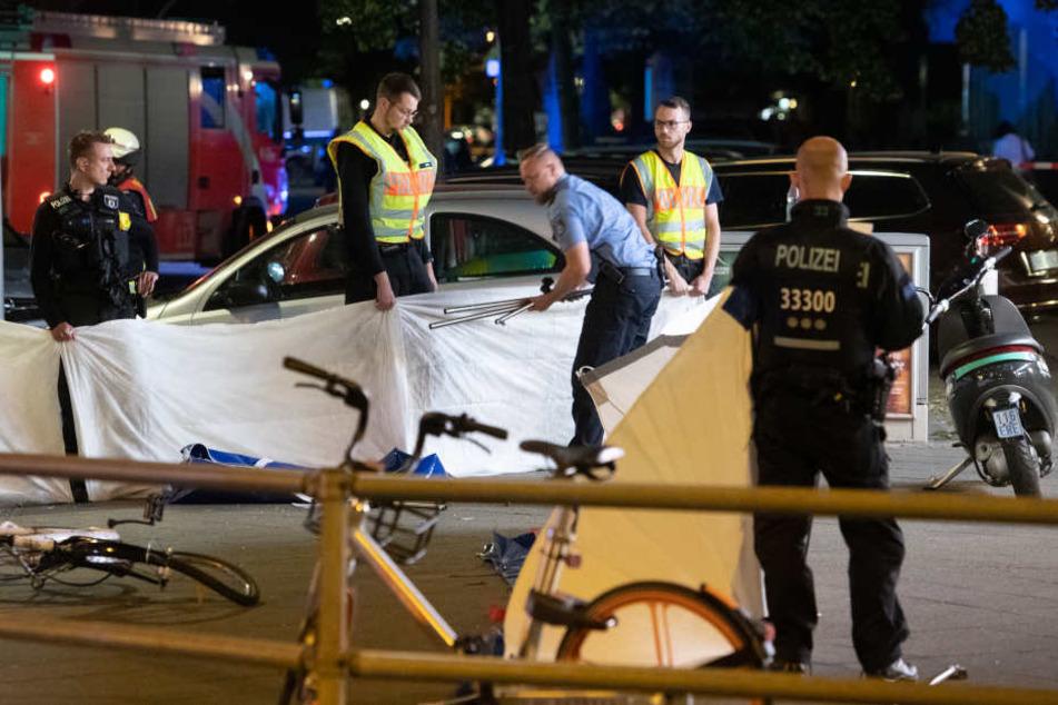 Bei einer Verfolgungsjagd im Juni in Berlin wurde eine Radfahrerin getötet.