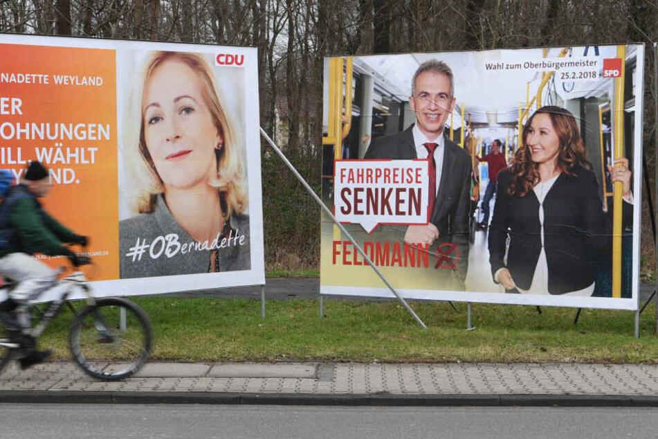 Frankfurter OB wird in Stichwahl bestimmt