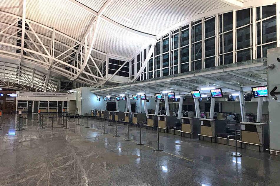 Der internationale Flughafen der Ferieninsel Bali bleibt geschlossen.