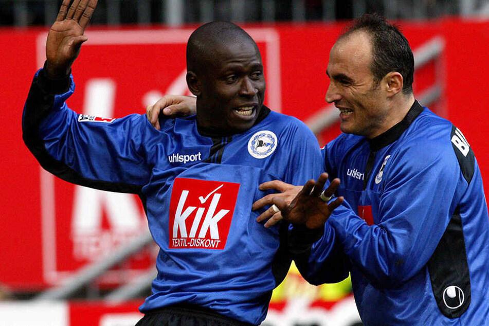 Momo Diabang und Fatmir Vata sind weiterhin in der Bielefelder-Fussballszene dabei. Diabang bei Türk Sport Bielefeld und Vata beim FC Gütersloh.