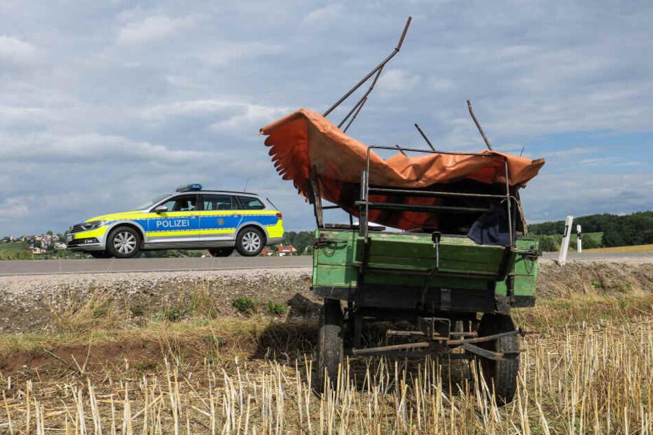Schwerer Kutschenunfall: Sieben Verletzte, ein Pferd getötet