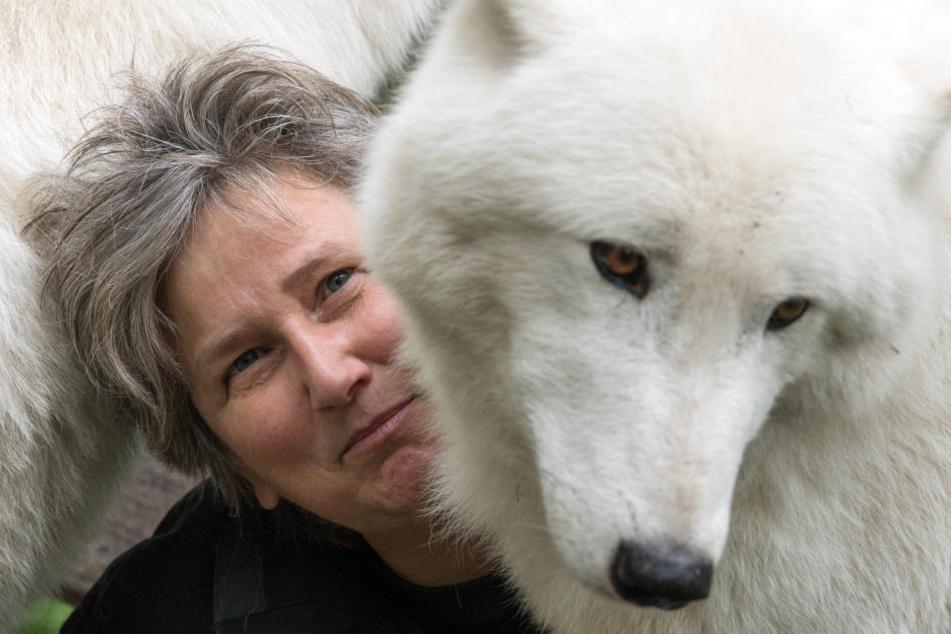 Nicht nur die Wölfe sehen unglücklich aus: Ebel fällt der Abschied schwer.