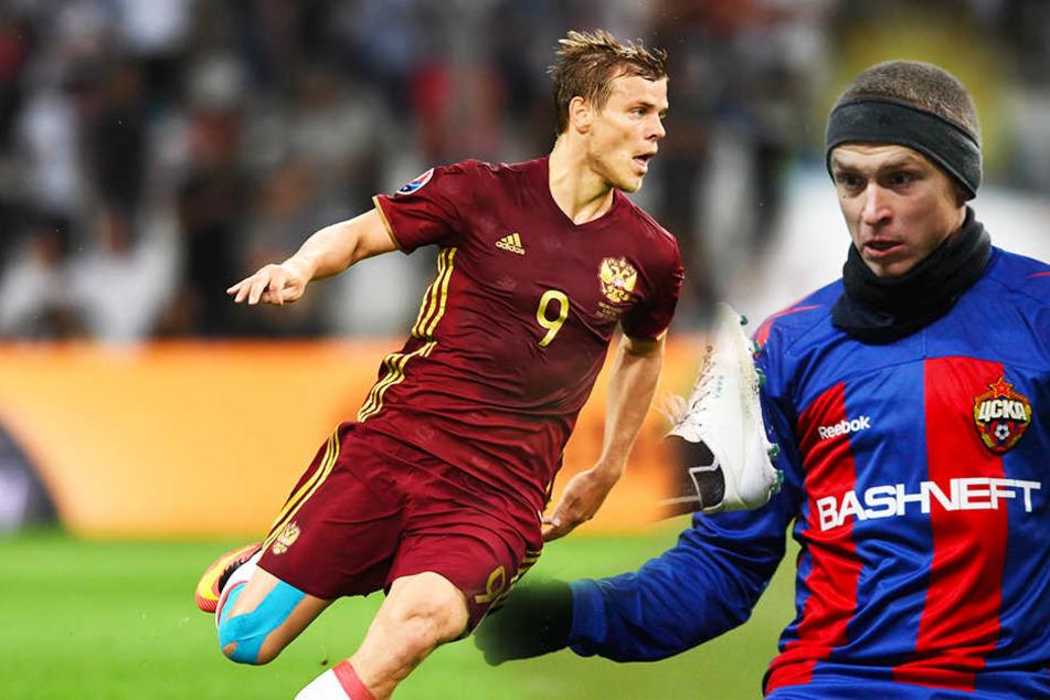 Nach Schlägereien: Russische Fußball-Nationalspieler weiter im Knast!