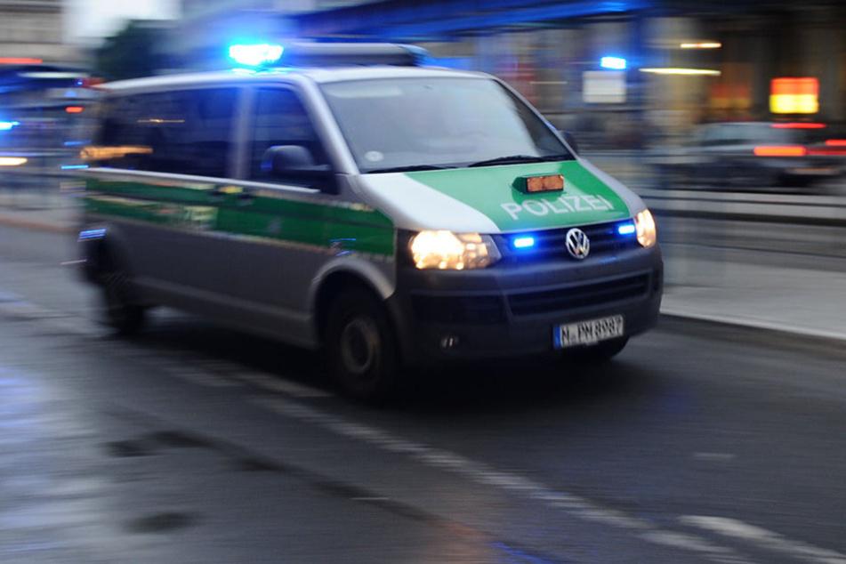 Die Polizei jagte einen 41-Jährigen durch Dresden (Symbolbild).
