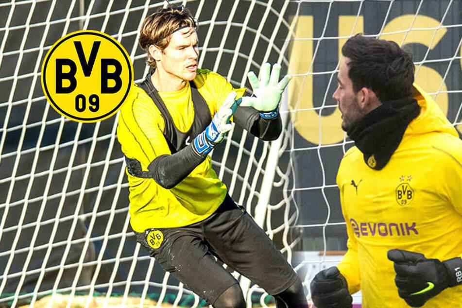 BVB-Schock vor Spiel gegen Werder: Beide Torhüter fallen aus