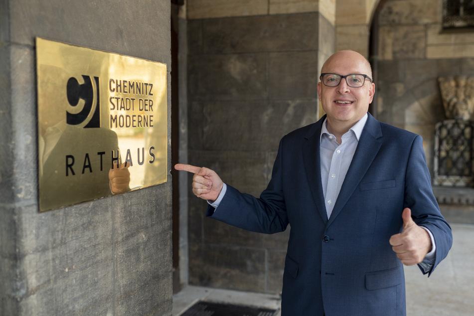 Das will der neue Chemnitzer OB Schulze jetzt anpacken