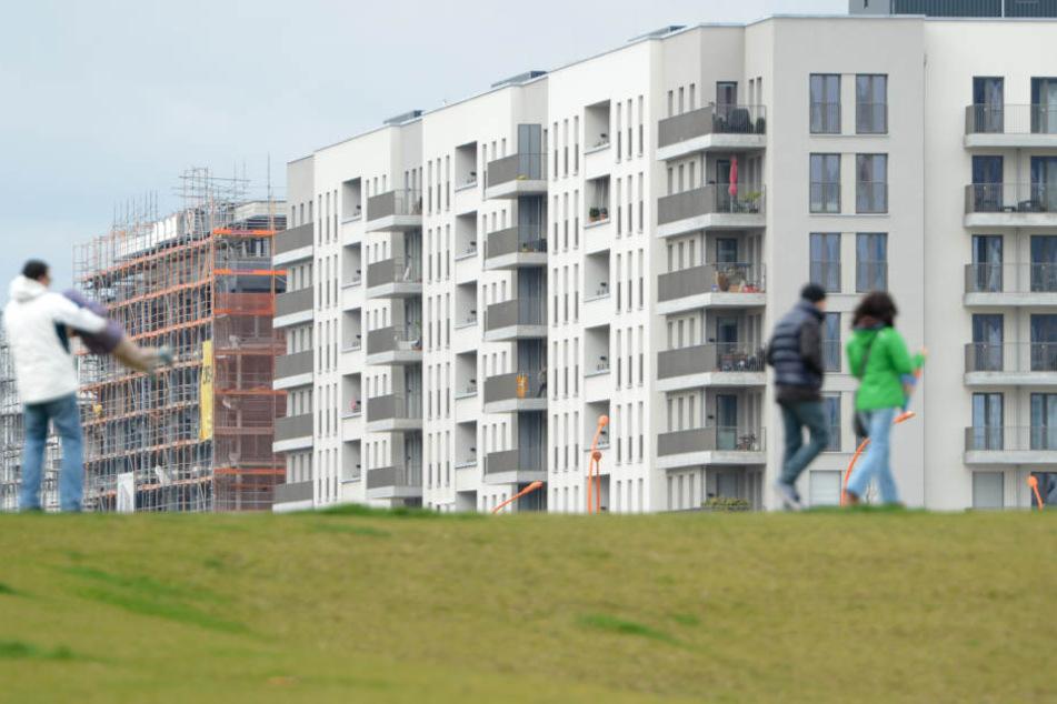 In Frankfurt sind die Wohnungen mit am kleinsten.