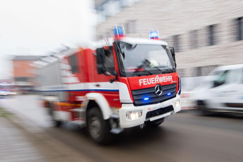 Die Feuerwehr musste anrücken. (Symbolbild)