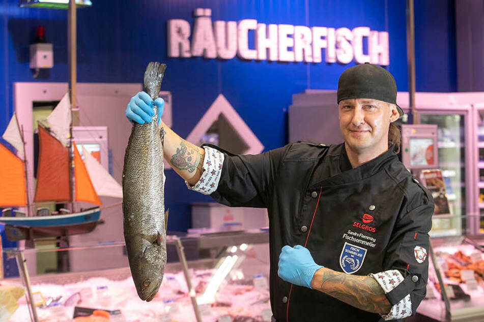 Sandro Flemming (38) ist Sachsens erster Fisch-Sommelier.