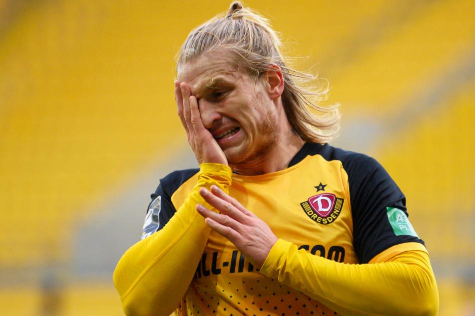 Marvin Stefaniak (25) droht das Hansa-Spiel wegen einer Verhärtung zu verpassen.