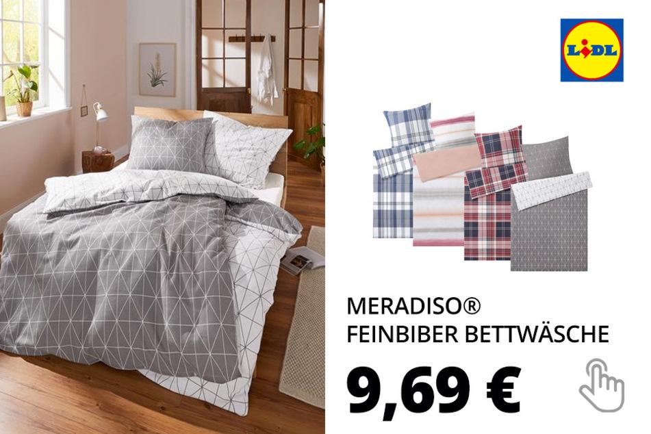 MERADISO® Feinbiber Bettwäsche