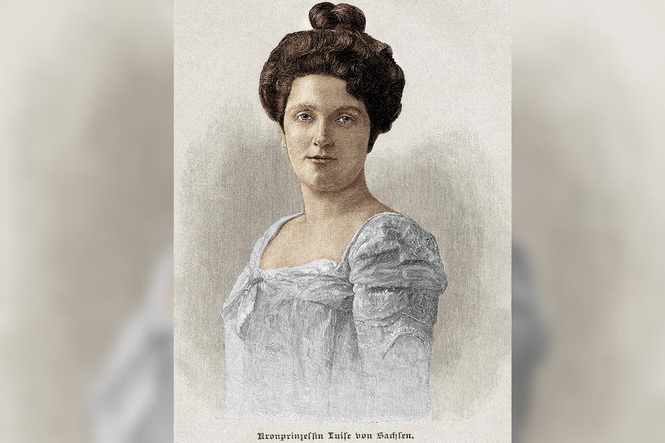 Sie bescherte dem Hochadel einen handfesten Skandal: Luise von Toskana.