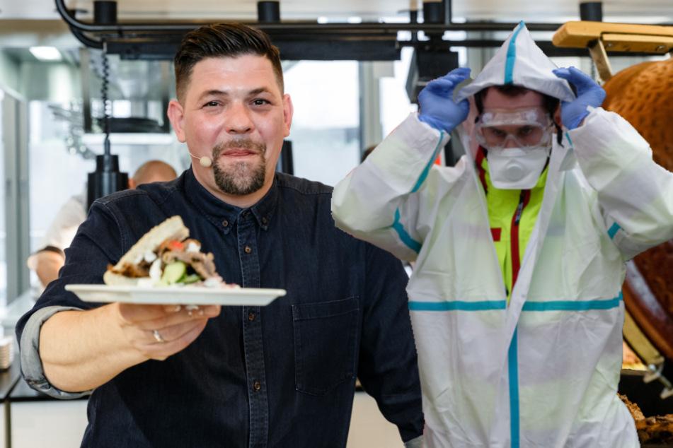 Coronavirus: So unterstützen TV-Koch Mälzer & Co. die Corona-Helden