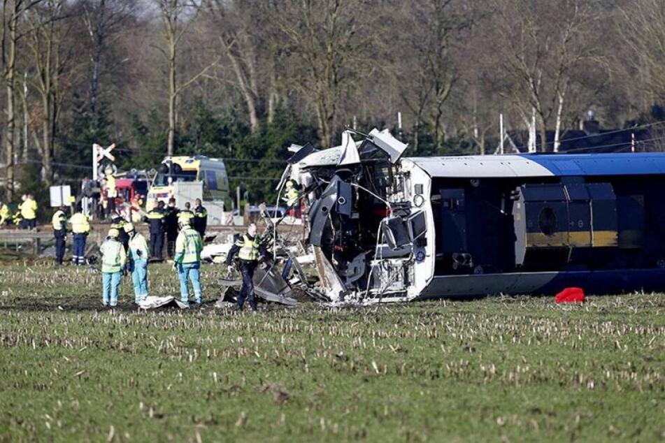 Ein Toter bei Zugunglück in den Niederlanden