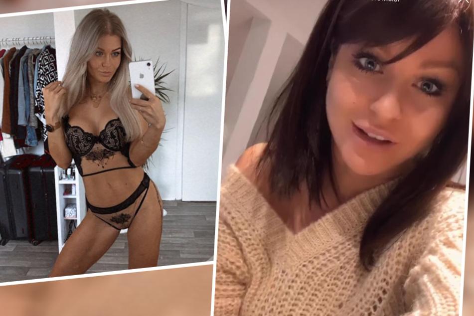 """Links die alte, rechts die neue Julia: Auf Instagram überraschte die Ex-""""Love Island""""-Teilnehmerin ihre Fans nun mit einer """"neuen Frisur""""."""