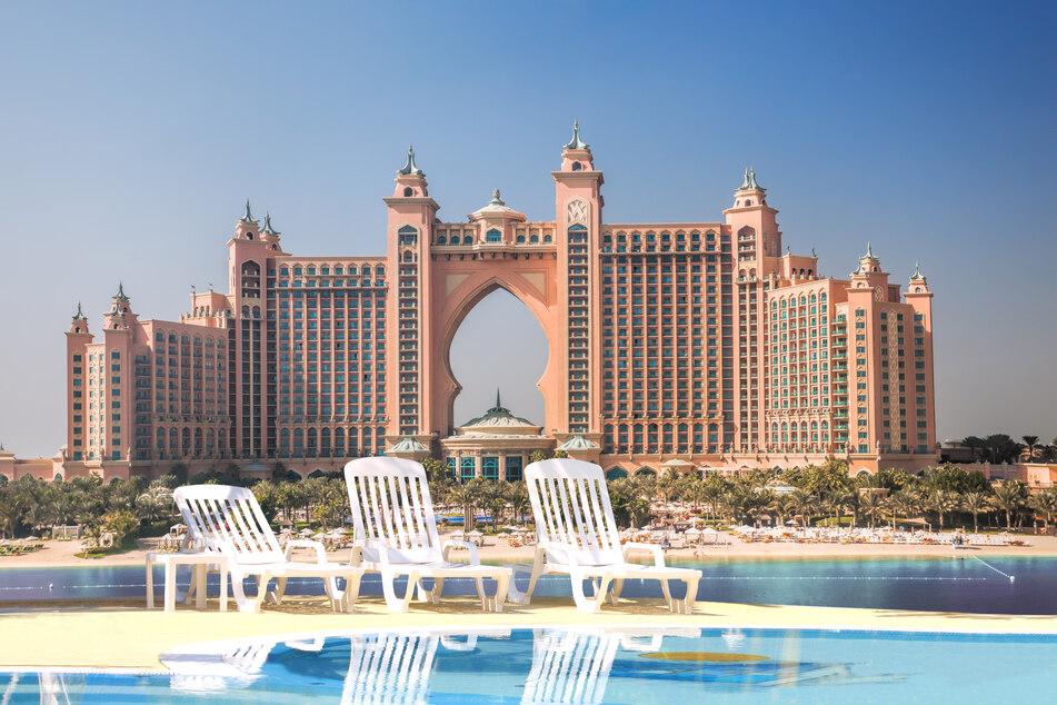 "Das luxuriöse Hotel ""Atlantis The Palm"" in Dubai."