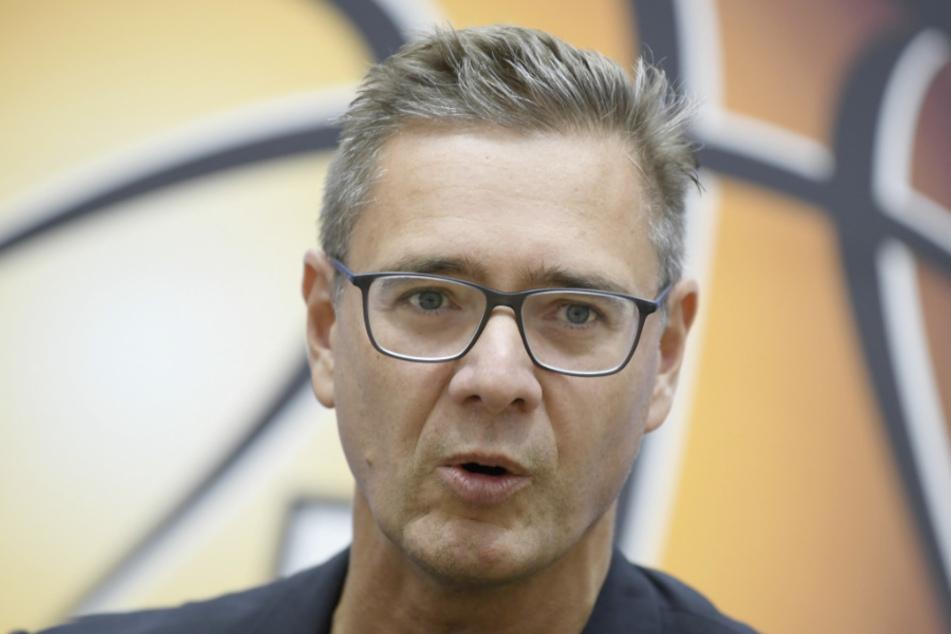Geschäftsführer Gunnar Wöbke (53) vom Basketball-Bundesligisten Fraport Skyliners aus Frankfurt. (Archivbild)