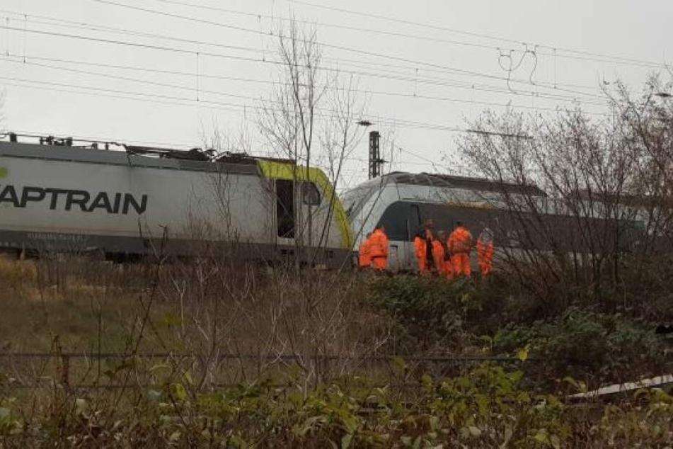 Fünf Fahrgäste der S-Bahn wurden verletzt.