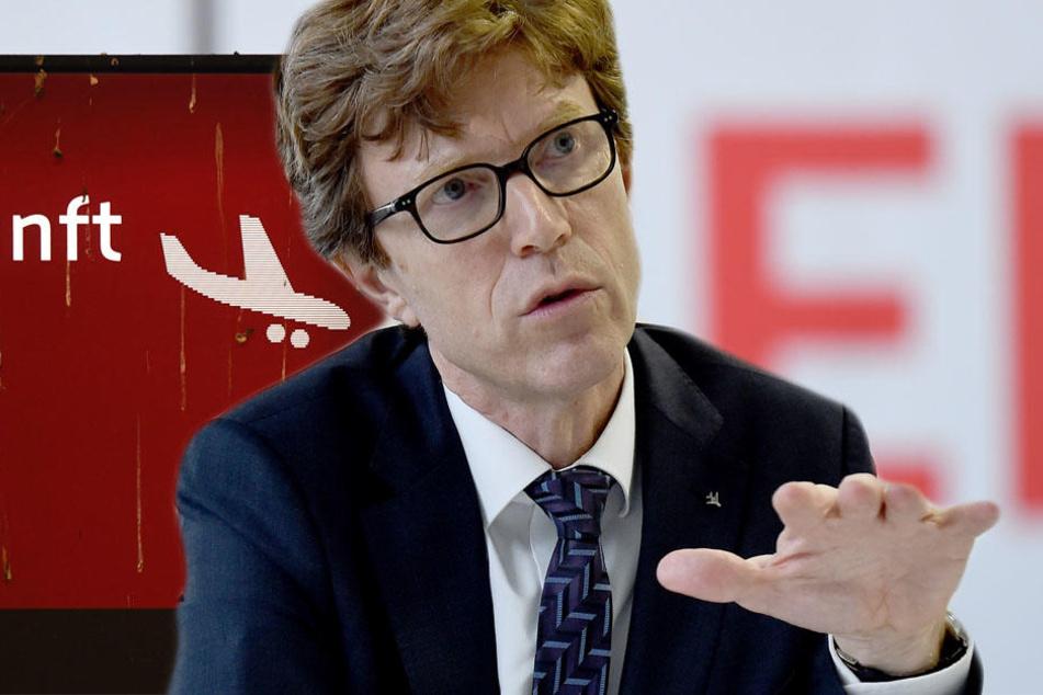 """Engelbert Lütke Daldrup sprach sich auch gegen Forderungen aus, den Flughafen Tegel nach der Eröffnung des Hauptstadtflughafens """"Willy Brandt"""" in Betrieb zu halten."""