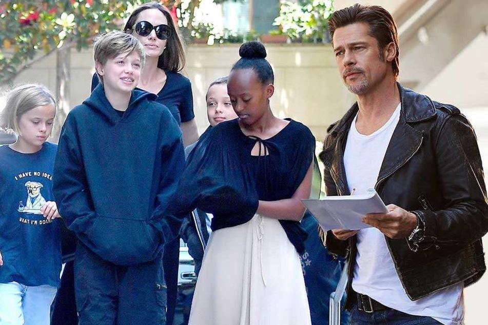 Kurz vor Weihnachten sehen sich Angelina Jolie und Brad Pitt wieder