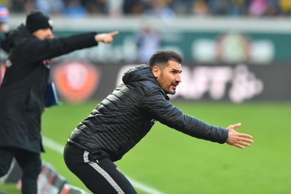 Cristian Fiel wird weiter an der Seitenlinie von Dynamo stehen.